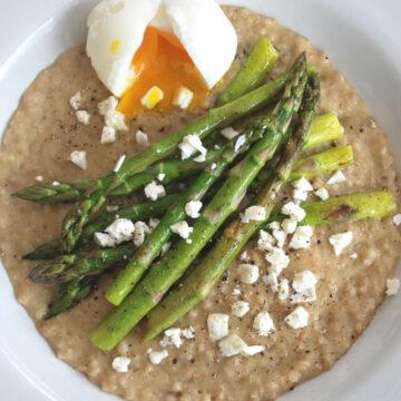 Soft Egg and Asparagus on Toast