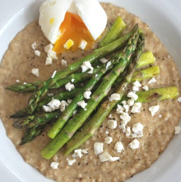 Soft Egg and Asparagus on Toast