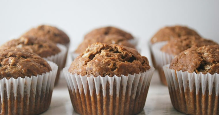 Healthy Banana Coconut Muffins