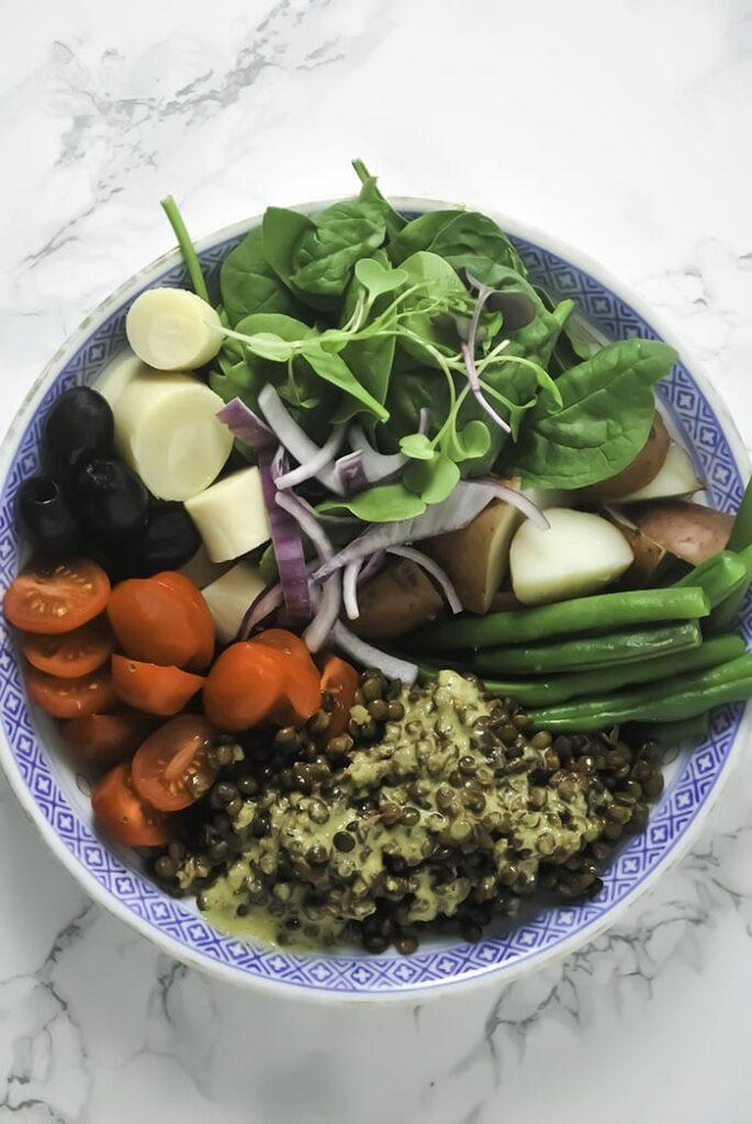 Healthy Nicoise Salad