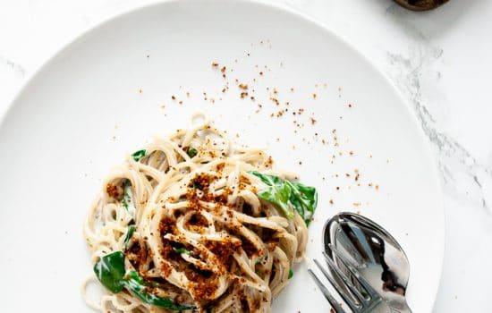 Spaghetti Gorgonzola