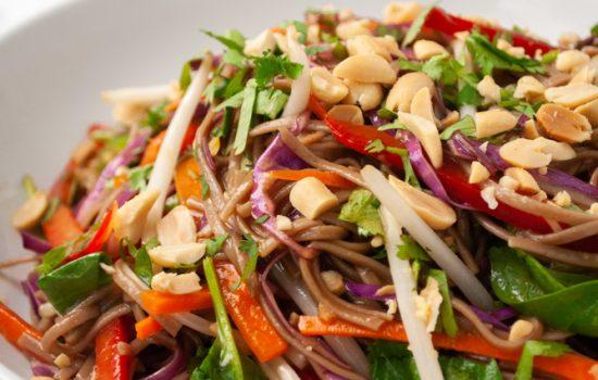 Rainbow Thai Noodle Salad