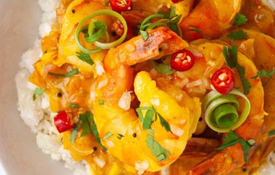 Durban Curry Shrimp