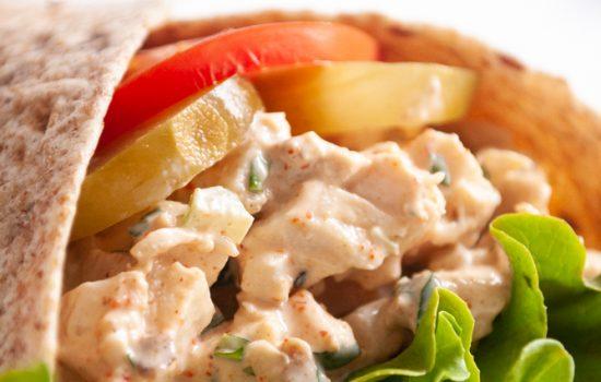 Piri Piri Chicken Salad Wrap